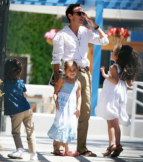 Marc Anthony,  Max and Emme
