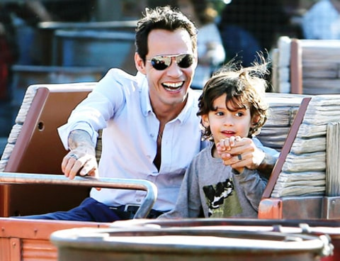 Marc Anthony and Max