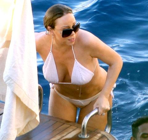 Bikini in mariyh carey