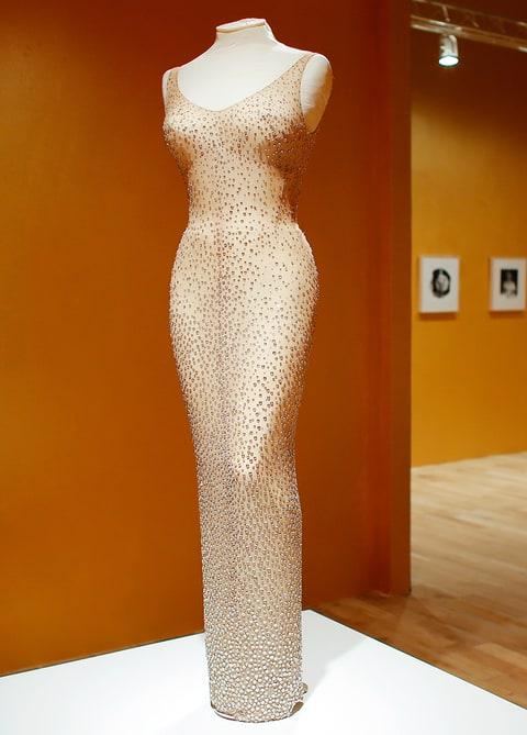 Marilyn Monroe S Happy Birthday Dress Sells For 4 8