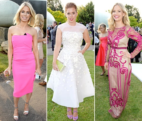 Marissa Hermer,  Princess Beatrice and Caroline Stanbury