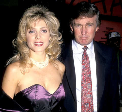 Marla Maples and Donald Trump in 1994.