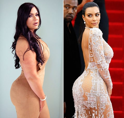 Marlene-Chinea and Kim Kardashian
