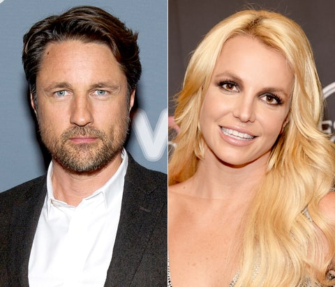 Martin Henderson and Britney Spears