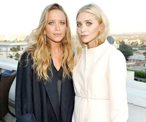 Mary-Kate Olsen and Ashley Olsen attend Elizabeth and James Flagship Store Opening Celebration with InStyle at Chateau Marmont on July 26, 2016 in Los Angeles, California.