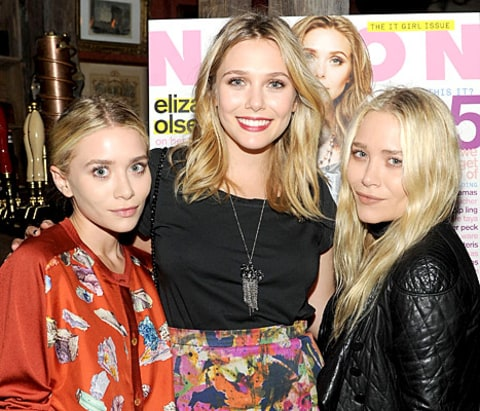 Elizabeth Olsen: Ashley Is Favorite Sister, Mary-Kate ...