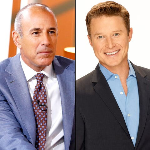 Matt Lauer and Billy Bush