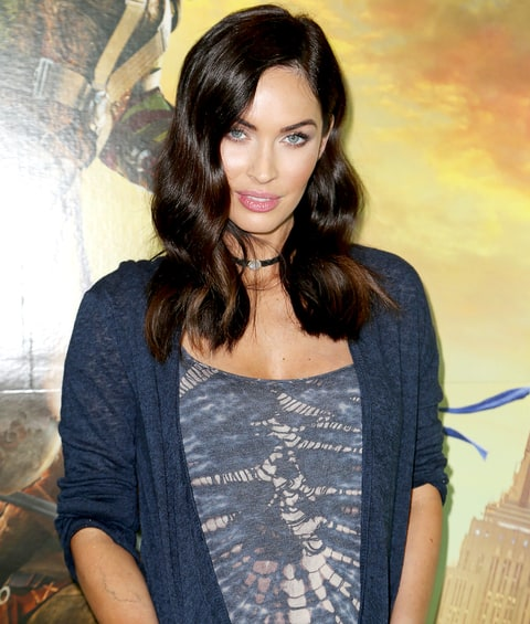 Megan Fox is seen attending a special fan event at Regal South Beach on behalf of the film 'Teenage Mutant Ninja Turtles: Out of the Shadows' on May 10, 2016 in Miami Beach, Florida.