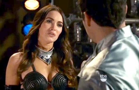 Megan Fox in Wedding Band