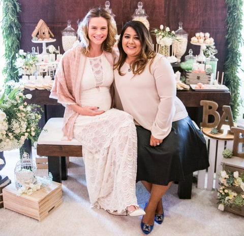 2Create Designs Event Designer Saman Bangloria Shah pictured with Meghan King-Edmonds