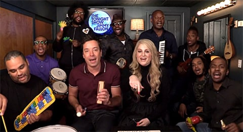 Jimmy Fallon, Meghan Trainor & The Roots
