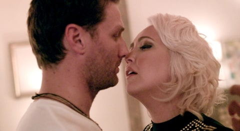 Juan Pablo Galavis and Meghan Linsey in 'Exes and Friends'