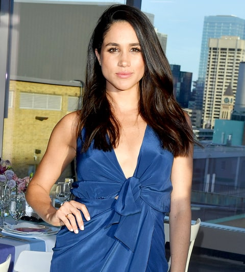 Meghan Markle attends the Instagram Dinner held at the MARS Discovery District on May 31, 2016, in Toronto.