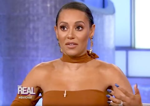 Mel B. on The Real