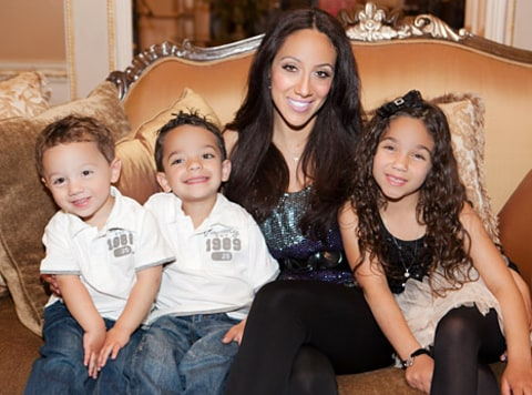 Melissa Gorga and family