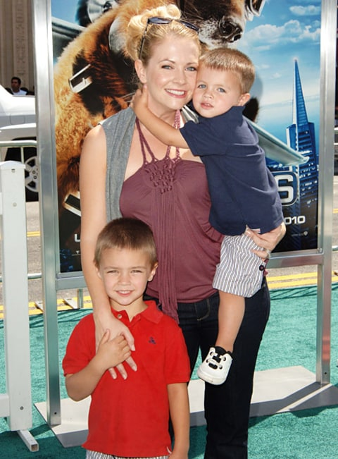 Melissa Joan Hart and sons