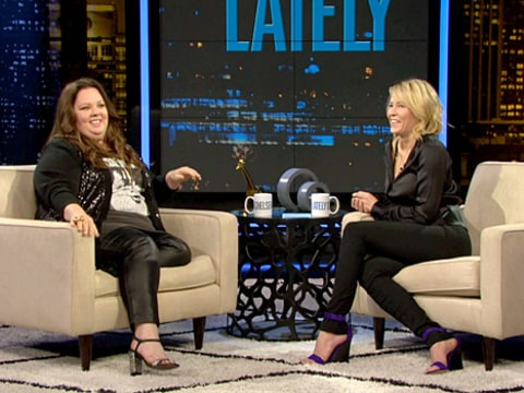Melissa McCarthy on Chelsea Lately