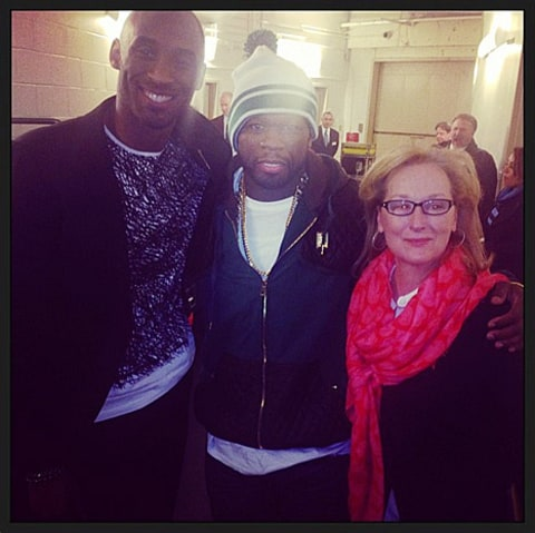 meryl streep, 50 cent and kobe bryant 2