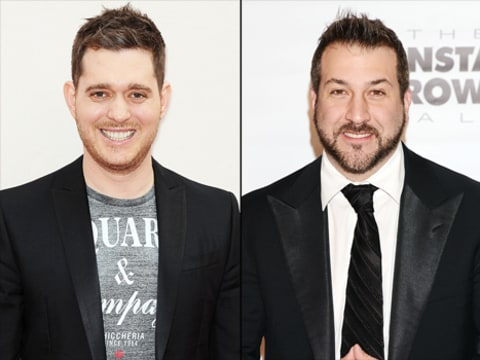 michael buble and joey fatone