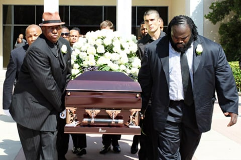 Michael Clarke Duncan Laid to Rest - 36.8KB