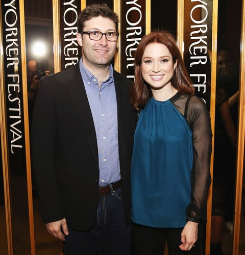 Michael Koman and Ellie Kemper