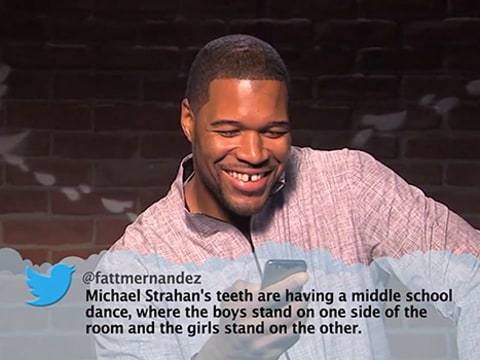 Michael Strahan Mean Tweet