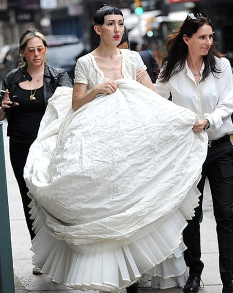Michelle Harper wedding dress