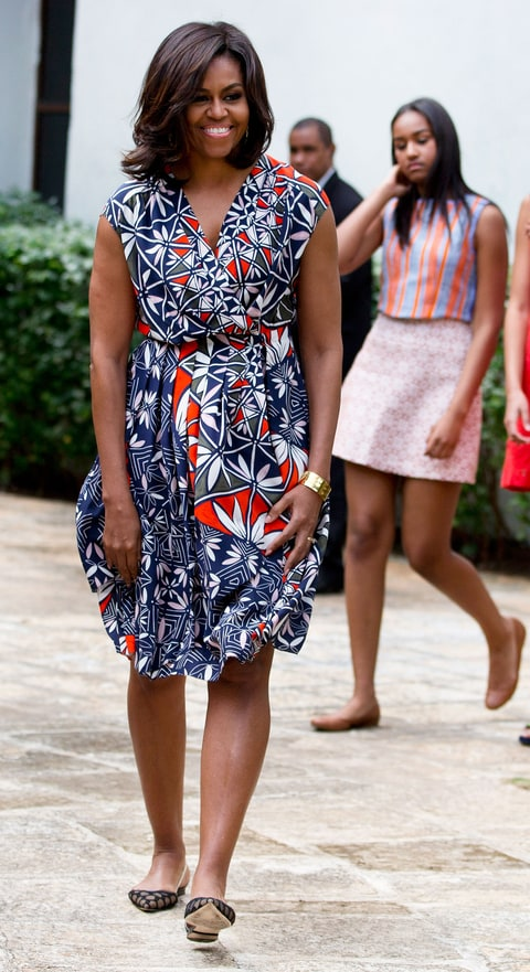 Michelle Obama. AP Photo/Rebecca Blackwell