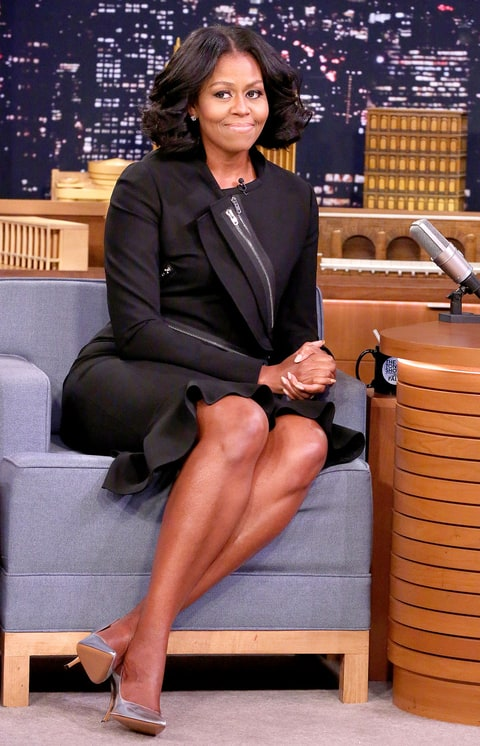 Michelle Obama Wears Givenchy On The Tonight Show Us
