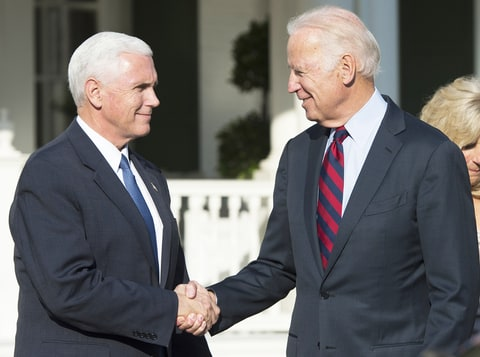 Biden offers Pence an olive branch