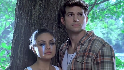 Mila Kunis & Ashton Kutcher: Moon Quake Lake