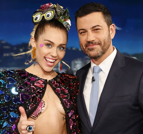 Miley and Jimmy