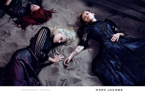 miley marc jacobs laying down