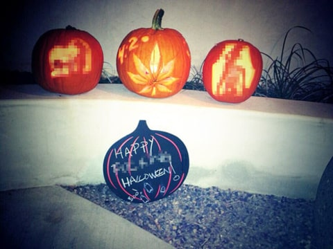 miley pumpkins