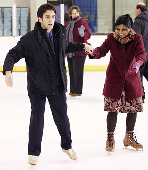 mindy kaling and bj novak on the office