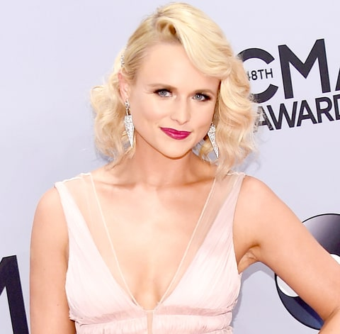 Miranda Lambert attends the 48th annual CMA Awards.