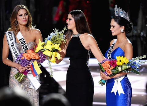 Miss Philippines is crowned Miss Universe after Miss Colombia was mistakenly named the title.