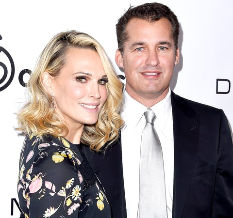 Molly Sims and Scott Stuber attend the 2015 March Of Dimes Celebration Of Babies at the Beverly Wilshire Four Seasons Hotel on December 4, 2015 in Beverly Hills, California.