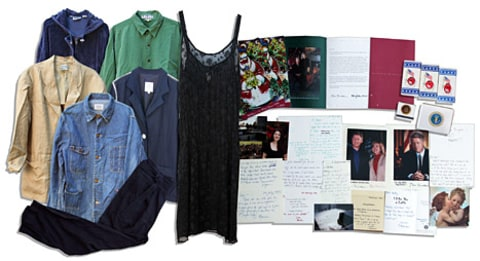 monica lewinsky auction items
