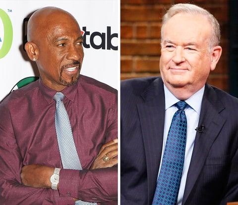 Montel Williams and Bill O'Reilly