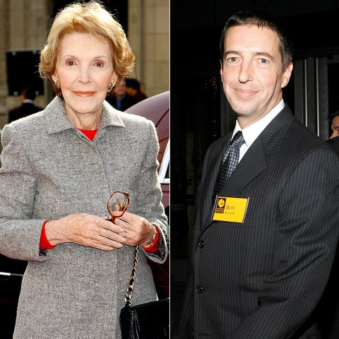 Nancy Reagan and Ron Reagan