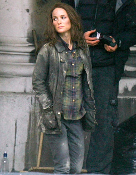natalie on thor set