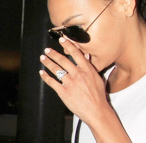 Naya Rivera Ring close up