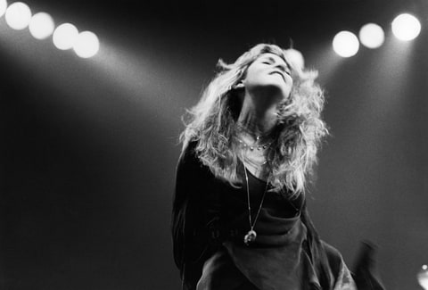 Photo of Stevie NICKS and FLEETWOOD MAC; Stevie Nicks performing live onstage, 1978