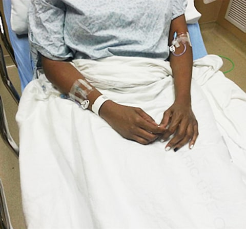 nene leakes hospitalized