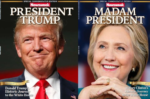'Madam President' editions of Newsweek recalled