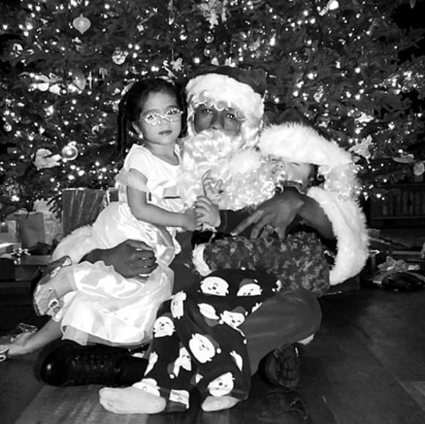 Nick Cannon and Kids - Christmas