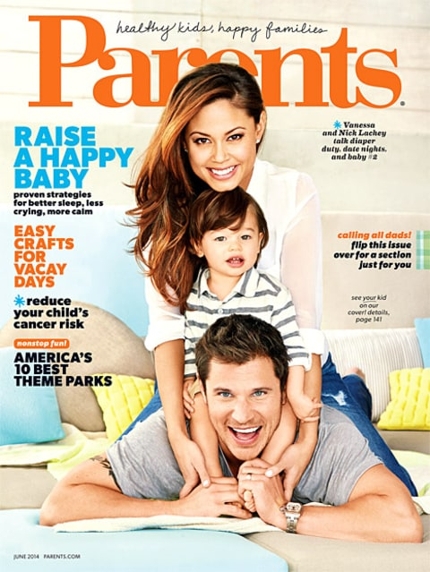 Nick Lachey and Vanessa Parents Cover