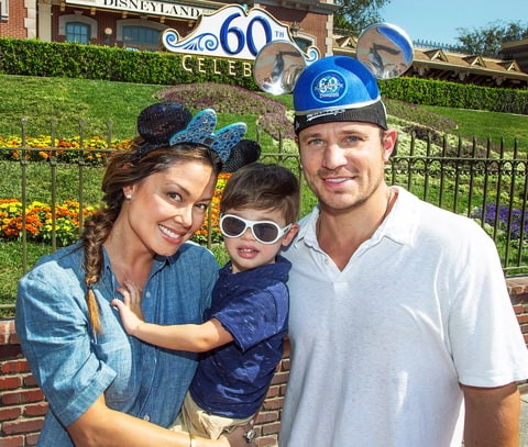 Vanessa and Nick Lachey with Camden