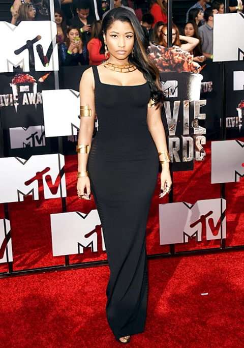Nicki Minaj MTV Movie Awards
